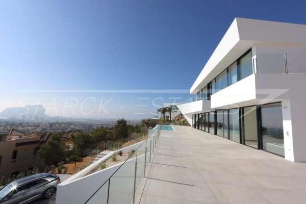 Außergewöhnliche brandneue, moderne Luxusvilla mit atemberaubender Aussicht in Benissa, 03720 Benissa (Spanien), Villa