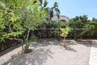 Villa der Extraklasse am Monte Solana in Pedreguer - Obstgarten