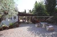 Mediterrane Luxusvilla mit Meerblick am Monte Pego - Pergola