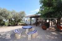 Mediterrane Luxusvilla mit Meerblick am Monte Pego - Sitzecke