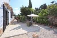 Mediterrane Luxusvilla mit Meerblick am Monte Pego - Terrasse