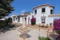 Mediterrane Luxusvilla mit Meerblick am Monte Pego - Haus Monte Pego