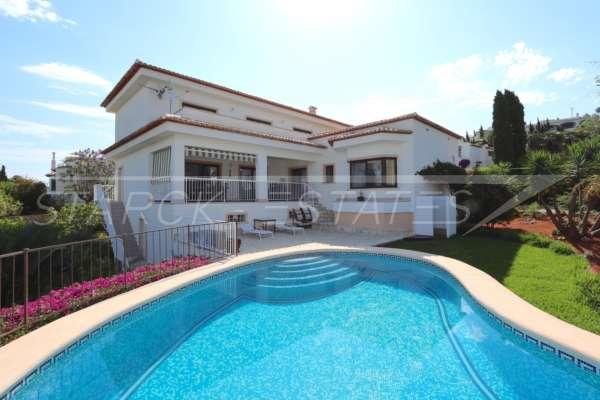 Modernes Villenanwesen in bester Bauqualität mit Panoramablick am Monte Pego, 03789 Pego (Spanien), Villa