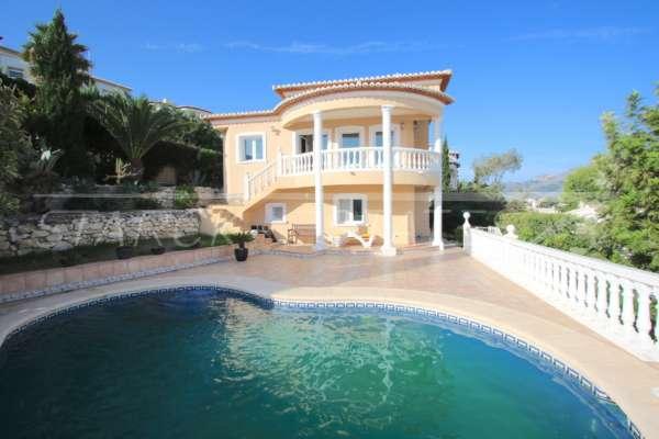 Moderne Villa in herrlicher Panoramalage mit separatem Gästeapartment in Orba, 03790 Orba (Spanien), Villa