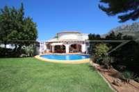 Villa mit Ausbaupotential und herrlichem Blick auf das azurblaue Mittelmeer am Monte Pego - Haus in Monte Pego